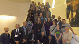 Participants and speakers at the Global Citizenship Summit in Atlanta, GA, USA