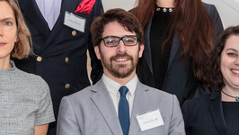 Marcos Kotlik, a recent LLM graduate from the University of Michigan Law School, at the sixth annual Salzburg Cutler Fellows Program in Washington, D.C. earlier this year